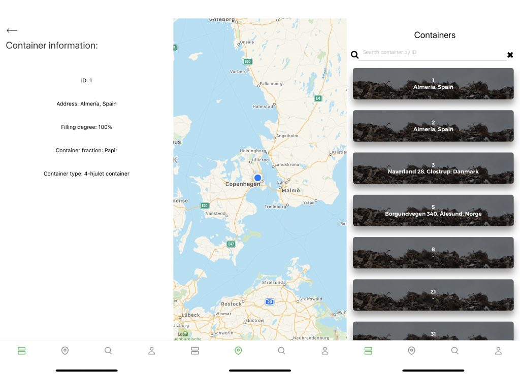 waste sensor system app